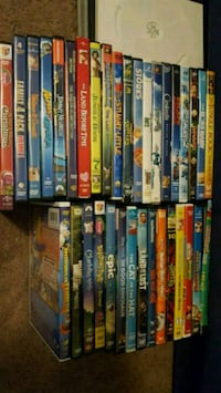 assorted movie DVD case lot Chapel Hill