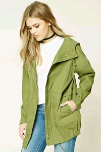 New Forever 21 Hooded Utility Jacket  Toronto, M6R 2C8