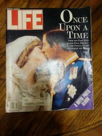 Life magazine Royal Marriage, Princess Diana, collectors magazines