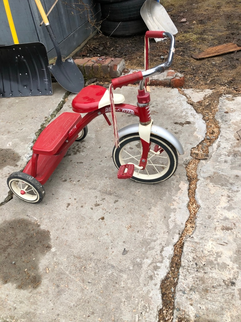 Photo Heavy duty radio flyer tricycle model 33