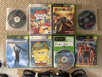 Original Xbox with games used 1x Los Angeles, 91401