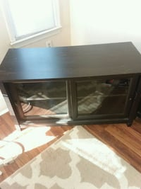 Tv stand with sliding glass doors 165 mi