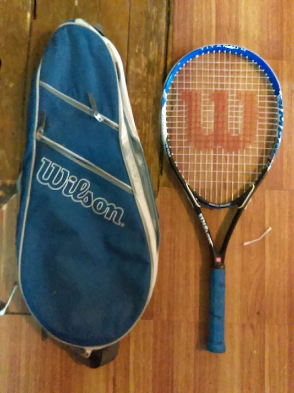 Brand new with case tennis racket