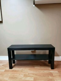 Black TV table entertainment stand or coffee tabl Toronto, M8Z 1C6