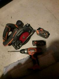 Drill and saw