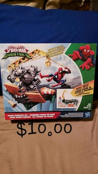 Marvel Ultimate Spider-Man Sinister 6 toy box Mississauga, L5L 5P8