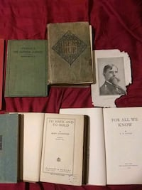 All these wonderful old Books from my collection for one price o