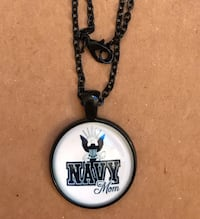 Navy Mom Necklace perfect for Mother's Day! The San Antonio, 78258