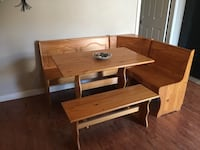 Kitchen Nook Table Storage Bench Surrey, V3V 7W3