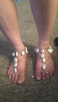 New shelled feet/foot boots for the beach and or ur liking hobo/gypsy style New Bedford, 02740