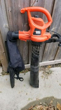 Leaf blower + vaccum (Black & Decker)