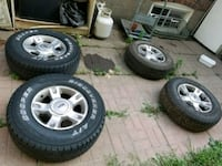 Ford rims with tires Toronto, M1R 1X4