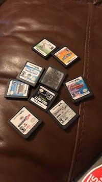 Assorted nintendo ds game cartridges Groton, 06355