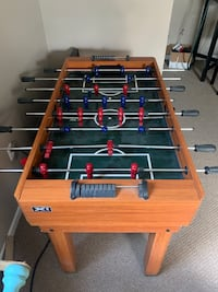 Air Hockey and Foozball Table