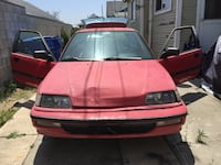 1991 Honda Civic DX hatchback $900 as is. NO LOW BALLING PLEASE. Los Angeles, 90065