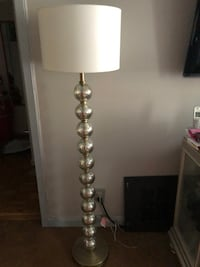 White and gray table lamp New York, 10465