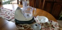 Tfal Kaleo food processor and accessories Pointe-Claire, H9R 2P9