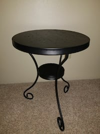 round black side table Tumwater, 98512