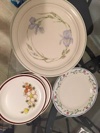 Assortment of plates and cups  Inman, 29316