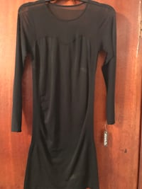 black long-sleeved dress Clifton, 07013