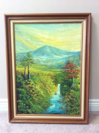 Oil Canvas Painting Courtice