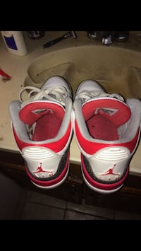 Fire Red Retro 3s Humble, 77396