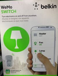 Belkin WeMo Switch-white-NIB Somerville, 08876