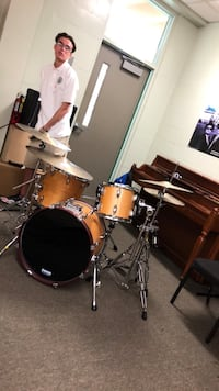 Pearl drumset. Drums only hardware and cymbals sold separately  Melbourne, 32901
