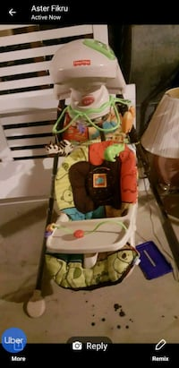 baby's multicolored stroller 38 km