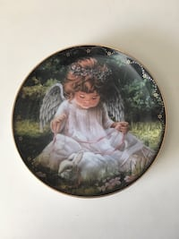 """""""An angels kindness"""" collectors plate Burbank, 91506"""