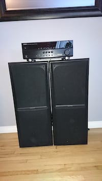 Like new kenwood speakers, amp and cd deck