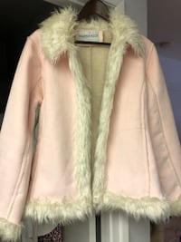 Suede and shearling jacket STANTON
