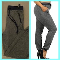 NEW/NWT Joggers with front pockets. Langley