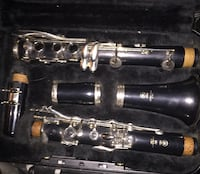Black and silver Yamaha 250 used clarinet (clean) Cumming, 30041