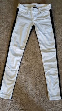 white and gray Nike pants London