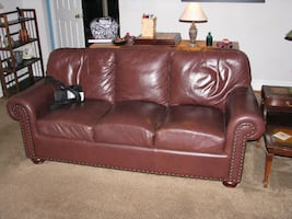 Leather Couch. great condition.