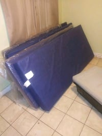 a mattress with a waterproof cover