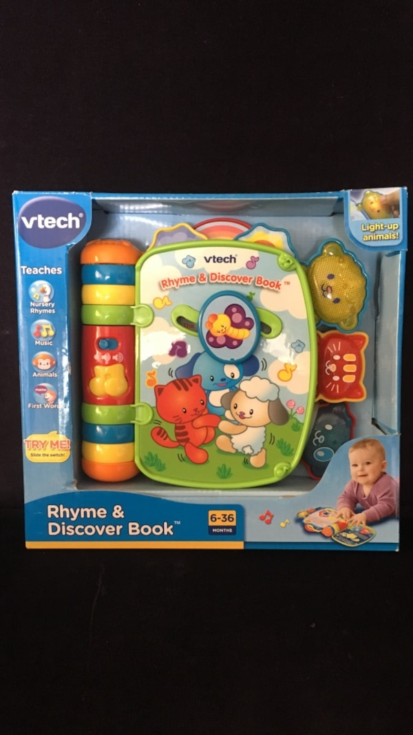 Used Vtech Rhyme Amp Discover Book For Sale In San Diego Letgo