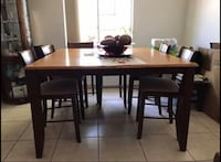 Dining table 6 chairs Hialeah, 33015