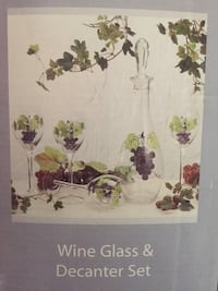 Wine Glasses and Decanter set Stafford, 22556