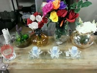 assorted color artificial flowers centerpiece Omaha, 68108