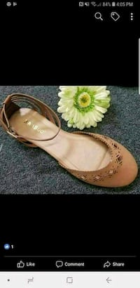 pair of brown leather sandals Sanger, 93657