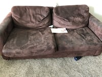 Brown Fabric Love Seat Hamilton, L8H 2L3