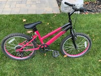 "Girls pink evolution bike 20"" Mississauga, L5H 2T7"