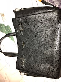 black leather Michael Kors handbag Silver Spring, 20910