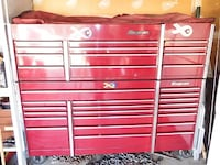 Snap on tool box loaded with 35 years of tools Aurora