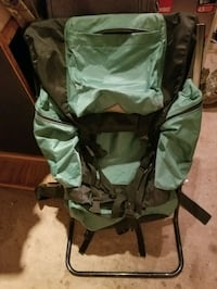 vintage frame trailpack w built in camp chair with Woodbridge, 22192