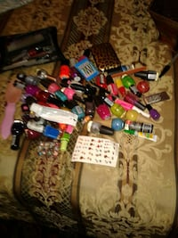 assorted labeled nail polish bottles Anniston, 36201
