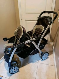 Chicco dual stroller