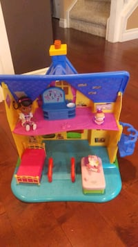 Doc McStuffins Clinic Doll House Calgary, T3H